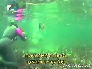 Underwater fucking featured in an educational video