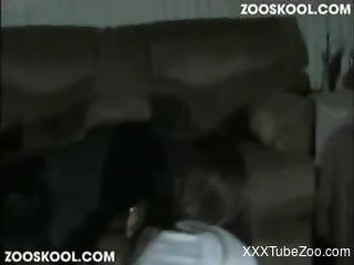 Slutty young girl getting fucked brutally on all fours
