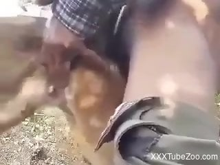 Man humps dog then enjoys the same treat